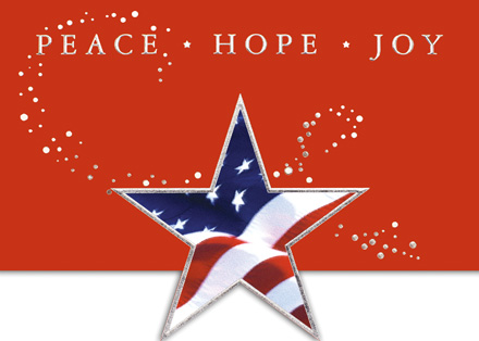 Holiday Cards Online >> Patriotic Holiday Cards Patriotic Christmas Cards American Flag